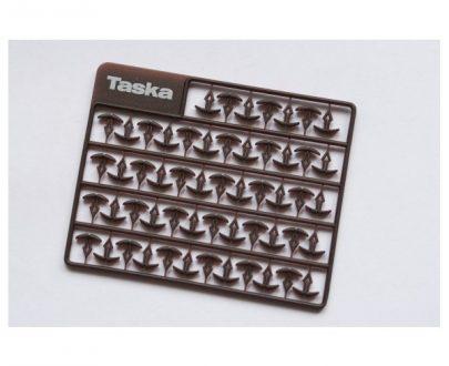 TASKA Predĺžené vlasové zarážky medium 6.5mm