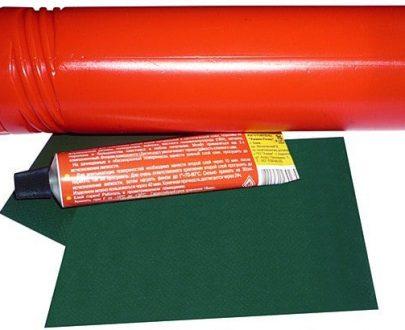 Opravná sada - PVC plátno,lepidlo,tuba