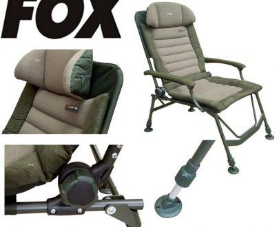 KRESLO FOX FX SUPER DELUXE RECLINER CHAIR