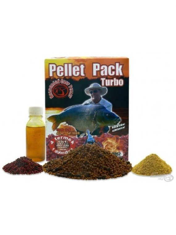 Haldorádó Pellet Pack Turbo - Sladký Ananás