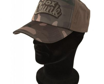 Šiltovka FOX Chunk Camo Solid Back Cap