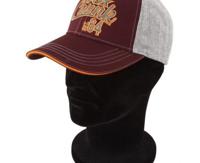 Šiltovka FOX Chunk Grey/Burgundy/Orange Baseball Cap