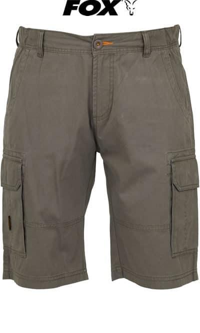 Fox kraťasy Chunk Heavy Cargo Shorts Twill Grey