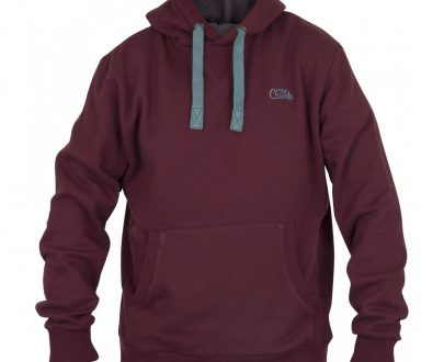 Fox mikina Chunk Ribbed Hoody Burgundy