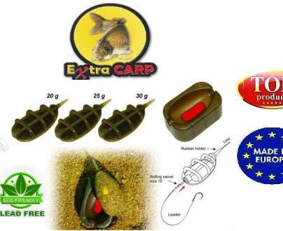 Extra carp Method Feeder IN LINE SET 3+1