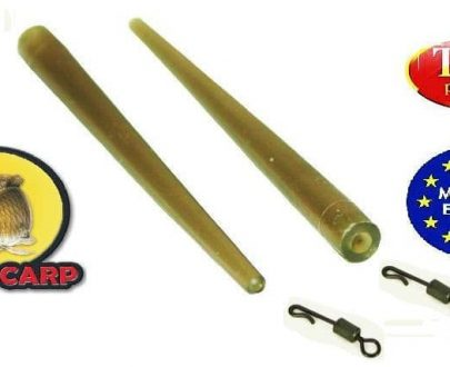 Extra carp Quick change swivels with sleeves - 10ks