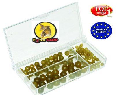 Extra carp Rubber Beads Set