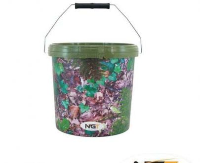NGT Vedro Large Camo Bucket 15L