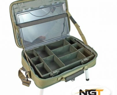 NGT Deluxe Anglers Boxcase System