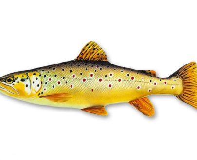 Plyšová ryba PSTRUH potočný