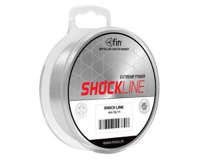 FIN SHOCK Line - šokový vlasec nadväzcový 80m