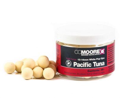 90129 2 405x330 - CC Moore Pacific Tuna - Plavajúce boilie biele 13/14mm 35ks