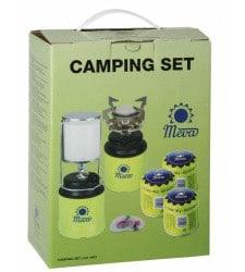Camping set piezo Focus + dedra+3 kartuše