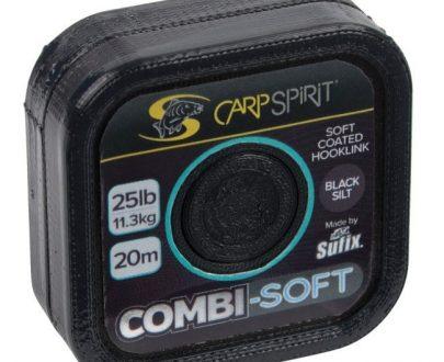 COMMBI SOFT-COATED BRAID- BLACK SILT 20M 25LB