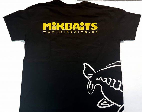 MikBaits Tričko Gangster Kapor ČIERNE
