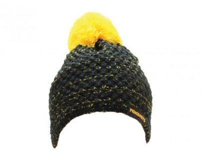 1633 1 6 405x330 - Mikbaits Čiapka čierna s žltou bambuľou