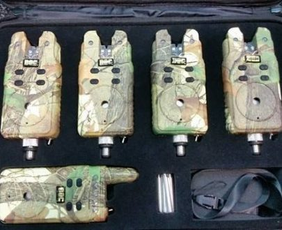 Sada signalizátorov s príposluchom DOC RF 4+1 maskač