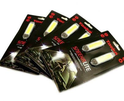 Sneek Lite kompaktné USB svetielko do bivaku
