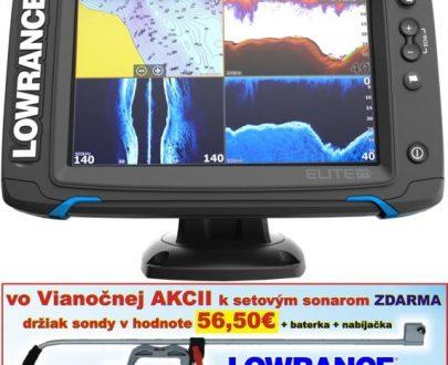 Dotykový sonar Elite-7Ti so sondou TotalScan