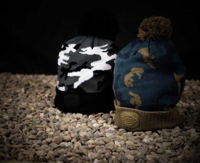 RidgeMonkey čiapka Camo Bobble Hat