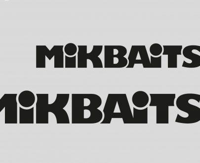 NÁLEPKA MIKBAITS ČIERNA