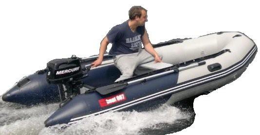 A 420 - nafukovací čln boat007