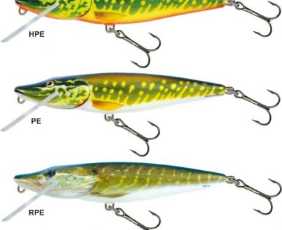 Salmo pike PE11JF 11cm floating