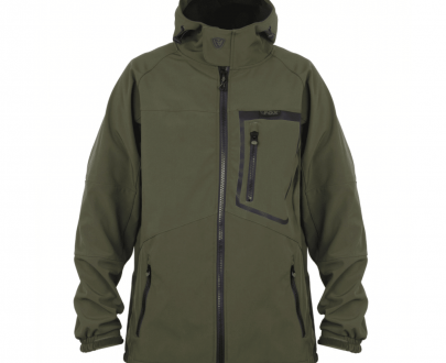 9003668 405x330 - Fox Green & Black Softshell Jacket