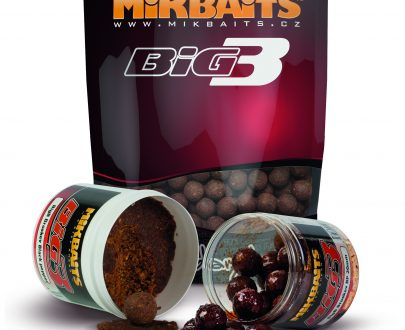 bigB 2 405x330 - Mikbaits BiG boilie - BigB Broskyňa Black pepper