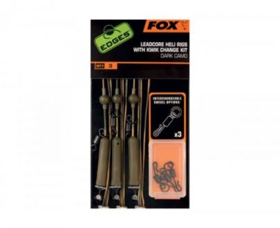 fox edges cark camo leadcore helirigs cac574 495 405x330 - FOX Lead Core Heli Rigs Dark Camo