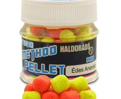 Haldorado hybrid method pellet sweet pineapple 600x800 405x330 - Haldorádó Hybrid Method Pellet - Sladký Ananas