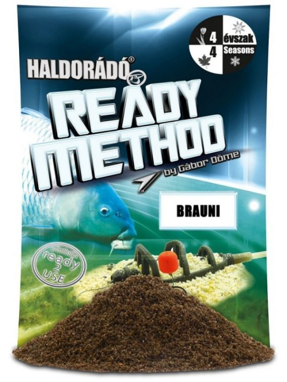 Haldorado ready method brauni 600x800 570x760 - Haldorádó Ready Method - Brauni