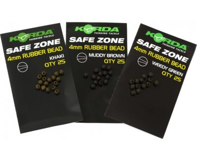 korda safe zone 4mm rubber beads 405x330 - Korda gumové korálky Safe Zone Rubber Beads 4mm