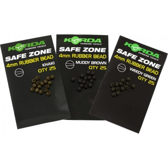 korda safe zone 4mm rubber beads 570x570 - Korda gumové korálky Safe Zone Rubber Beads 4mm