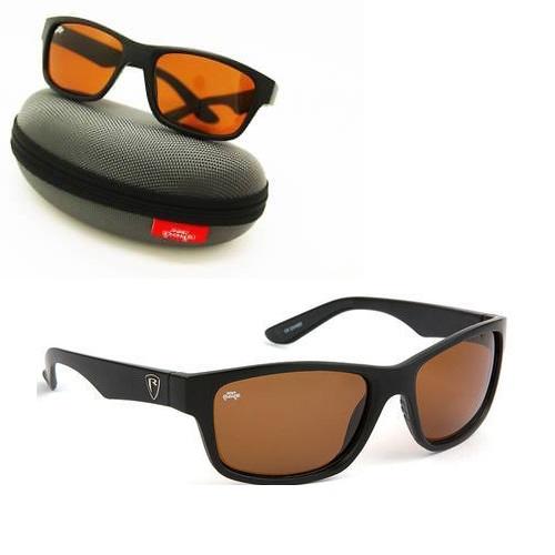 Sonnenbrille Polarisationsbrille Matt Black Frame - FOX Polarizačné okuliare RAGE SUNGLASSES