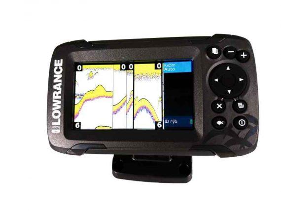 sonar na ryby 456 447e 570x428 - Sonar Lowrance HOOK2 - 4X ROW