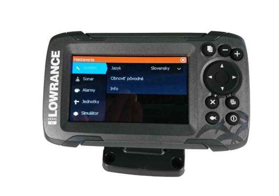 sonar na ryby 456 447g 570x400 - Sonar Lowrance HOOK2 - 4X ROW