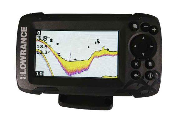 sonar na ryby 456 447h 570x391 - Sonar Lowrance HOOK2 - 4X ROW