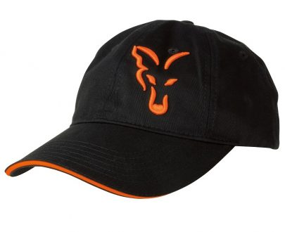 vyr 4185crp925 V 405x330 - FOX Šiltovka Black/Orange Baseball Cap