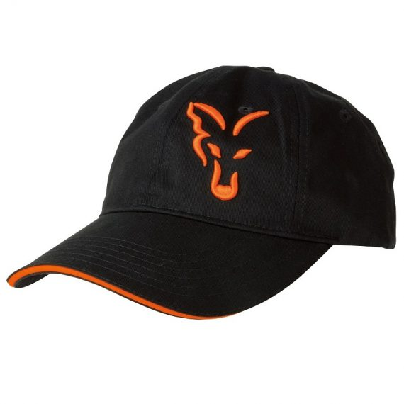 vyr 4185crp925 V 570x570 - FOX Šiltovka Black/Orange Baseball Cap