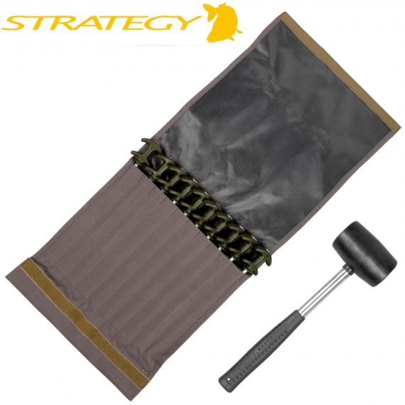 Strategy Outback Easy Grab Peg Set XL 10 Bivvy He 2 570x570 - Spro Strategy kolíky Outback Easy Grab Peg Set