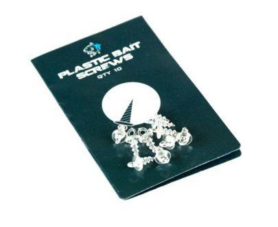 nash drziaky nastrah plastic bait screws 10ks 1 405x330 - Nash Držiaky Nástrah Plastic Bait Screws 10ks