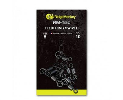 b17ab1ad3666feb2b8daae6976d88705 405x330 - RidgeMonkey Obratlík s krúžkom Flexi Ring Swivel