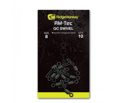 f12a39c9abf341d9666f146da6b97bd8 405x330 - RidgeMonkey Rýchlovýmenný obratlík - Quick change swivel