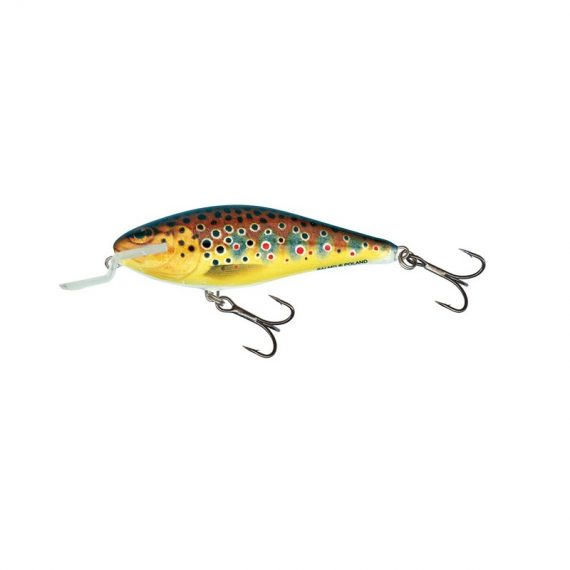 salmo wobler executor shallow runner trout 1 570x570 - Salmo Wobler Executor Trout 5cm 5g plávajúci