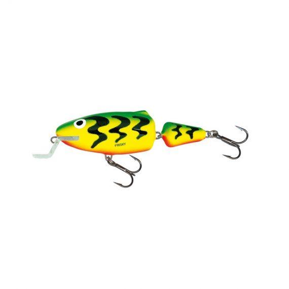 salmo wobler frisky shallow runer green tiger 1 1 570x570 - Salmo Wobler Frisky SR Green Tiger 7cm 7g plávajúci