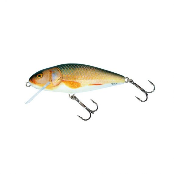 salmo wobler perch floating holographic grey shiner 1 2 570x570 - Salmo Wobler Perch Real Roach 8cm 12g plávajúci