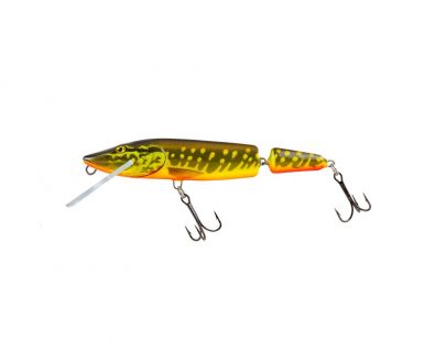 salmo wobler perch floating holographic grey shiner 1 3 405x330 - Salmo Wobler Pike Jointed Hot Pike 11cm 13g plávajúci