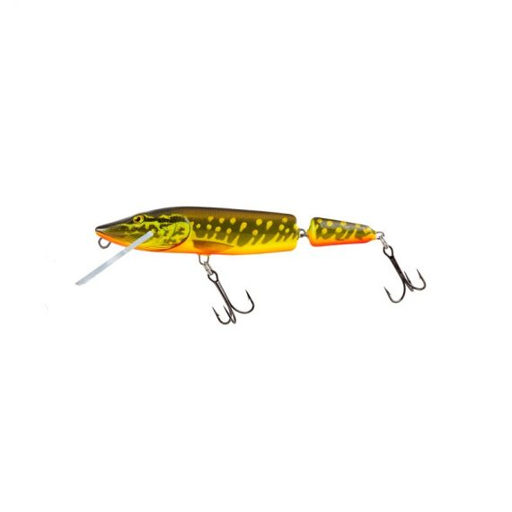 salmo wobler perch floating holographic grey shiner 1 3 570x570 - Salmo Wobler Pike Jointed Hot Pike 11cm 13g plávajúci