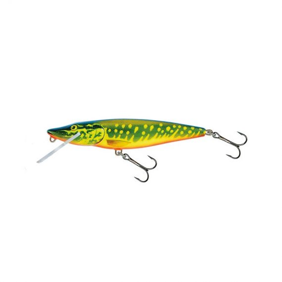 salmo wobler perch floating holographic grey shiner 1 5 570x570 - Salmo Wobler Pike Real Pike 11cm 15g plávajúci